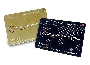 Carte Bancaire Black Gold.2 Cartes De Protection Carte Bancaire Sans Contact Anti Rfid Nfc Black Gold Blocage Rfid Protege Du Piratage Cb Carte De Credit Carte Bleue
