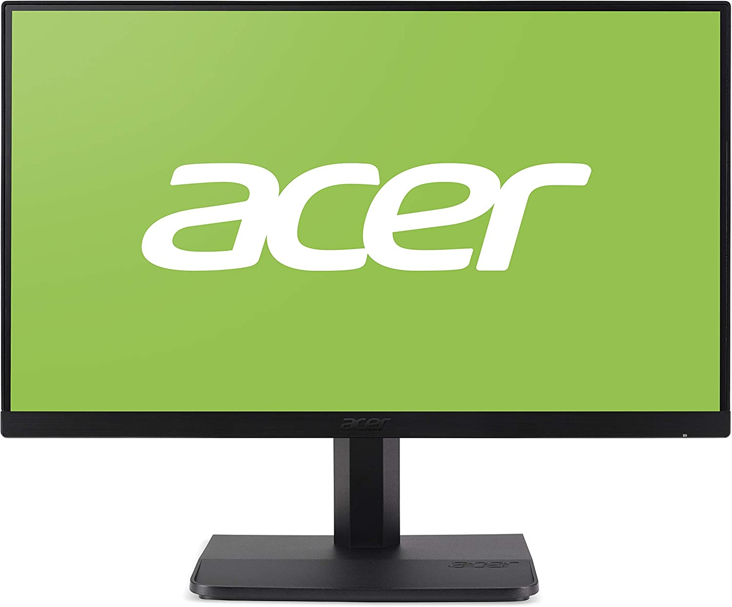 "Acer ET1-23.8"" Monitor Display Full HD 1920x1080 60Hz 16:9 4ms IPS 250Nit (Renewed)"