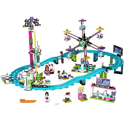Amazoncom Lego Friends Amusement Park Roller Coaster 41130 Toy For