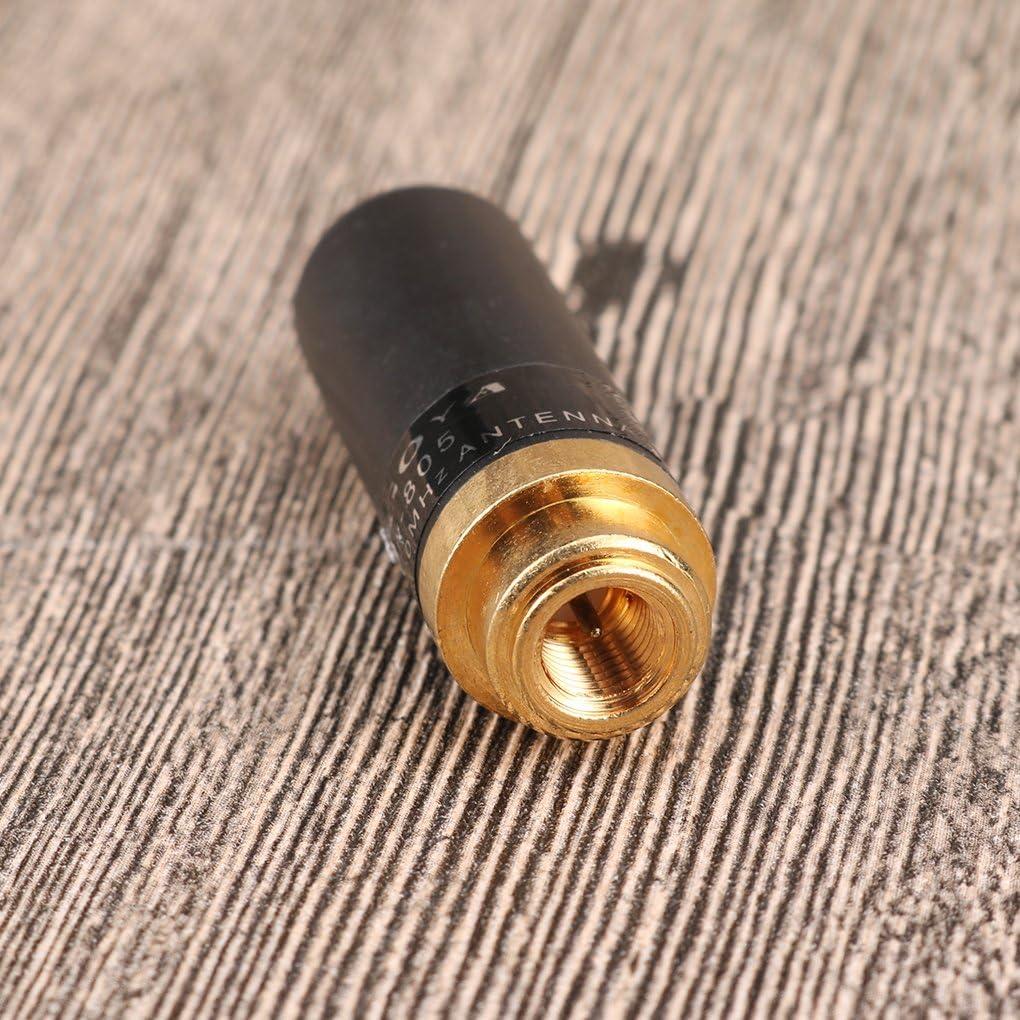 Uzinb NA-805 SMA M/âle Antenne bi-Bande pour Yaesu VX-2R Vextex VX-3R VX-7R BaoFeng UV3R TYT TH-UV3R TH-UV8000D
