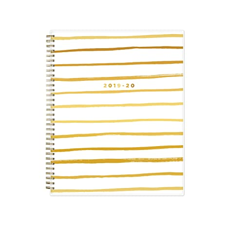 Ashley G for Blue Sky 2019-2020 Academic Year Weekly & Monthly Planner, Flexible Cover, Twin-Wire Binding, 8.5