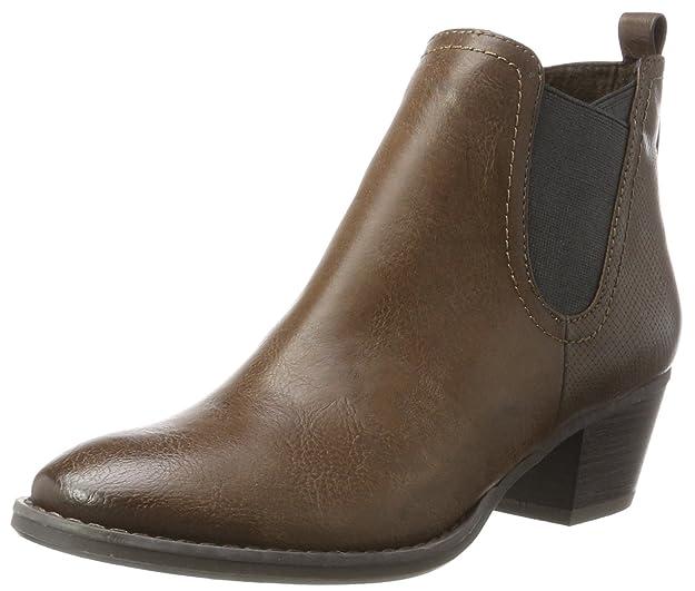 Marco Tozzi Damen 25321 Chelsea Boots, Schwarz (Black Comb), 41 EU