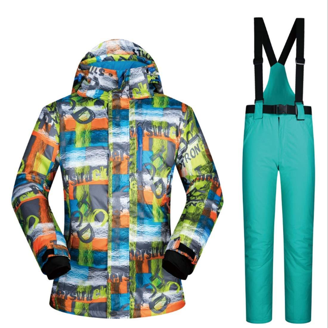Yajiemei Giacca da da da Sci Invernale e Pantaloni Outdoor Sport Suit da Neve Antivento e Impermeabile (Coloree   04, Dimensione   M)B07LGYZCS8XXL 06 | Il Più Economico  | Fashionable  | Reputazione a lungo termine  | I Materiali Superiori  | una vasta gamm 7de5ec
