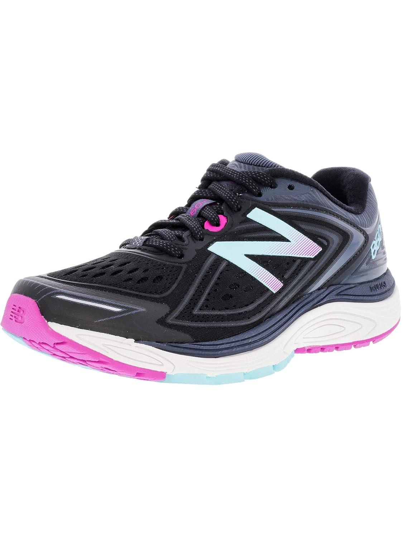 Noir New Balance W860v8 Wohommes Chaussure De Course à Pied (D Width) - SS18 39 EU