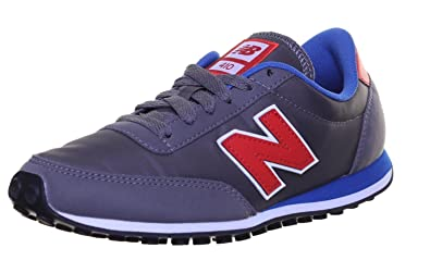 New Balance U410 Mens Other Fabric Trainers (4 US, Gray Blue)