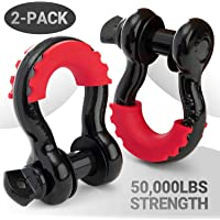 PROREADY D-Ring Shackles - Set of 2 Offroad Shackles with 7/8 in. Locking Pin - Offroad Shackles for Towing - Your Next…