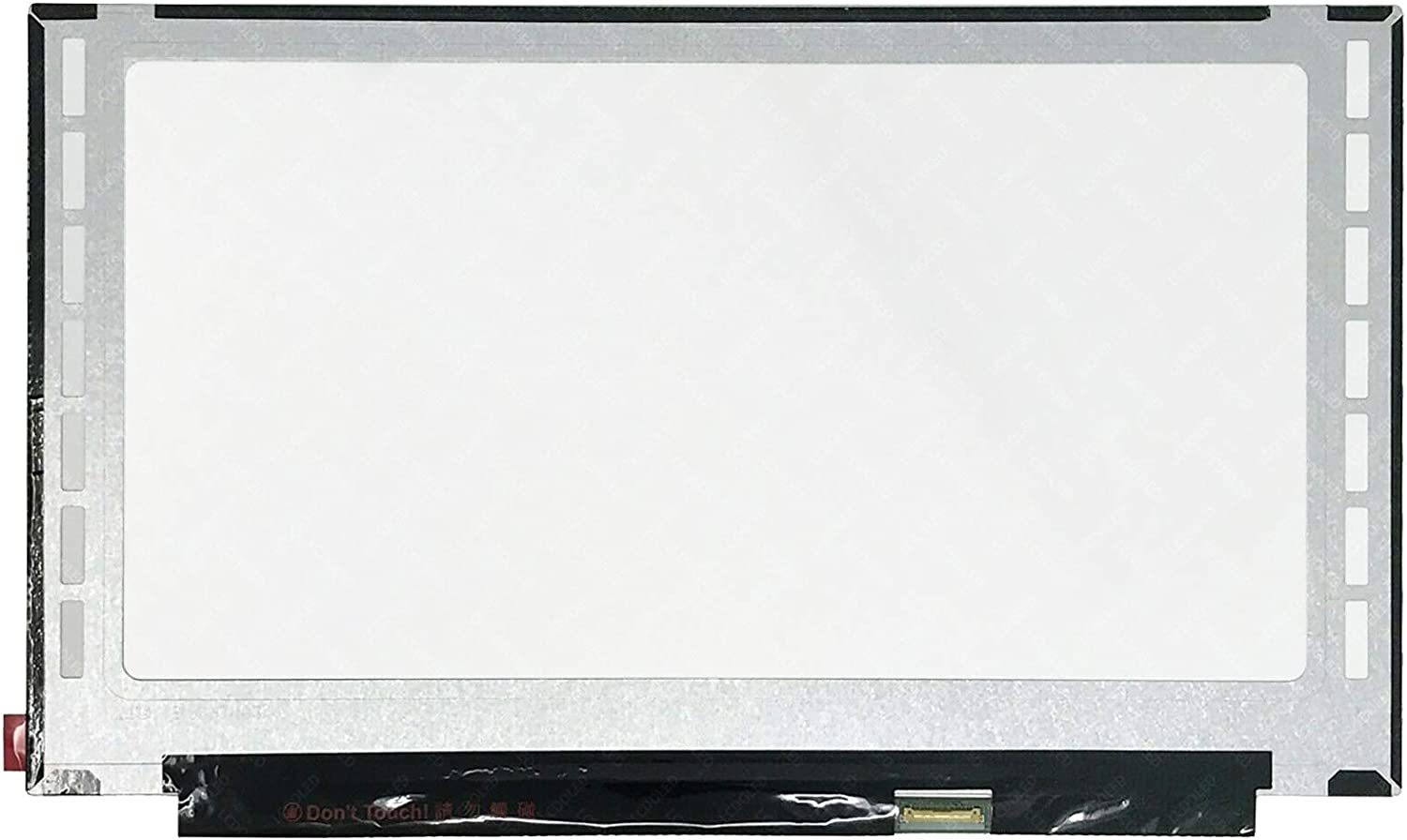 LCDOLED Compatible with NT156WHM-T02 15.6 inches HD 1366x768 40Pins LED LCD Display On-Cell Touch Screen Assembly Replacement