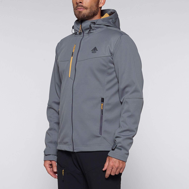 Berg Outdoor Mens Urra Softshell Jacket