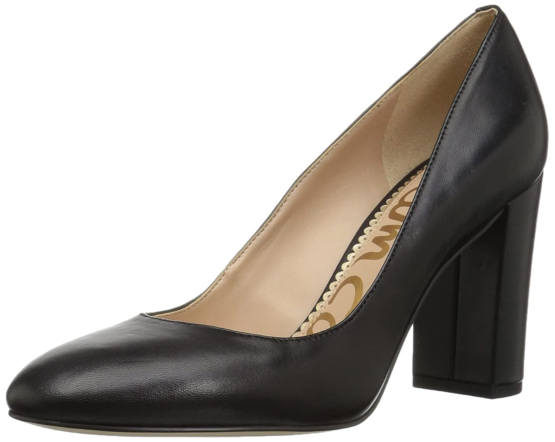Black Leather Sam Edelman Women's Stillson Pumps