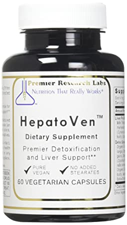 HepatoVen TM, 60 Capsules, Vegan Product – Premier Detoxification and Liver Support