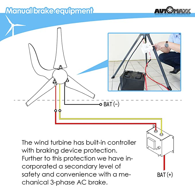 amazon com windmill db 400 400w 12v wind turbine generator kit rh amazon com