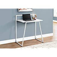 Monarch 30 Inch Specialties Laptop Study Table (White)