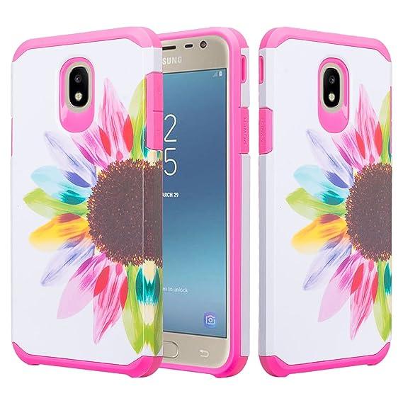 promo code 1975c 52c23 Galaxy J3 Orbit Case/J3 Star Case/J3 2018/J3 Achieve/J3v 3rd Gen/Express  Prime 3/Amp Prime 3 Case Shock Proof Cute Cover Girls Women Phone Case ...