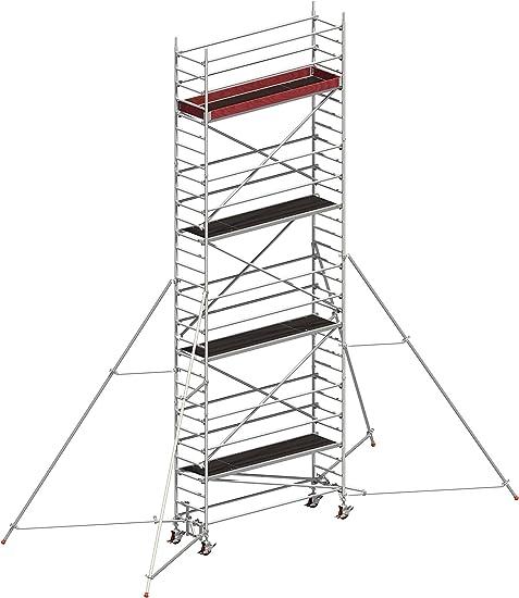 Layher Uni estándar aluminio de conducción Andamio P2 1401147: Amazon.es: Bricolaje y herramientas
