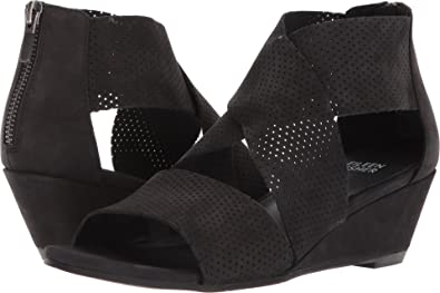 199f7030f588 Amazon.com | Eileen Fisher Women's Kes 2 Black Tumbled Leather 6.5 B ...