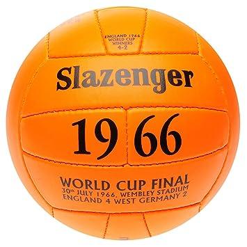 Slazenger Replica 1966 World Cup - Balón de fútbol para Adultos ...