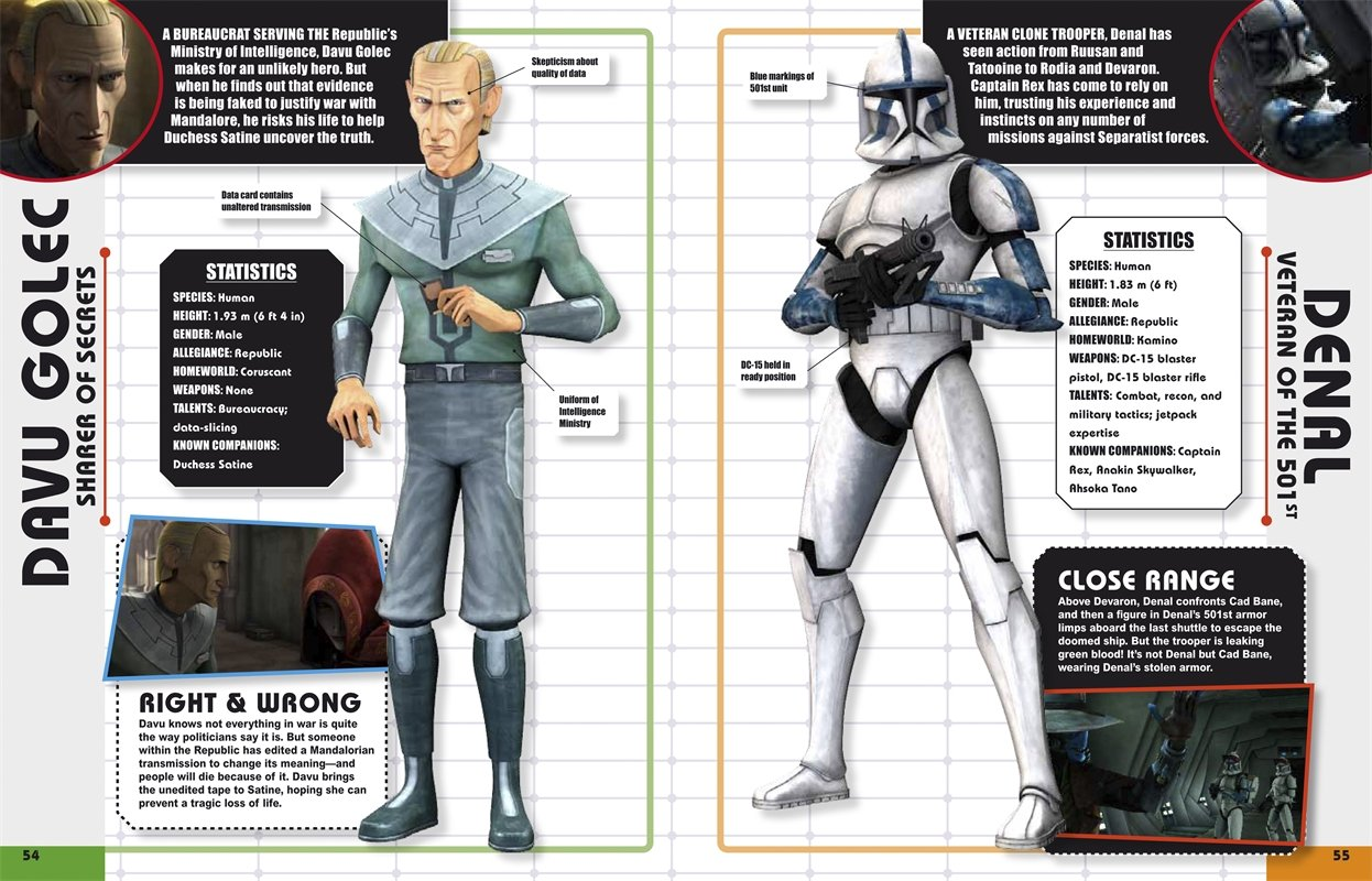 Star Wars The Clone Wars Character Encyclopedia Amazonde Dk