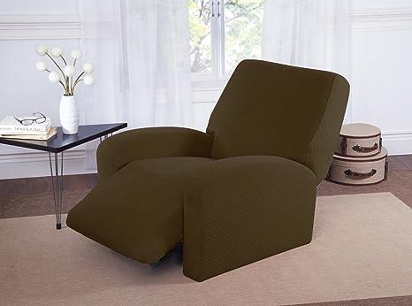Amazon.com: Basket Weave Forma de Stretch Muebles Sofá ...
