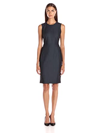 Amazon.com: Calvin Klein Women's Denim Sheath Dress: Clothing