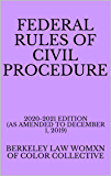 Federal Rules of Civil Procedure : BERKELEY LAW WOMXN OF COLOR COLLECTIVE