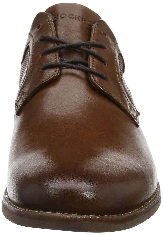 quality design 81016 5ef10 Rockport Style Purpose Perf Plain Toe, Derby Homme, Noir (Black), 43