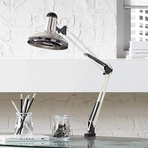 Amazon.com: Arquitecto estilo Clamp-On Base Lámpara de ...
