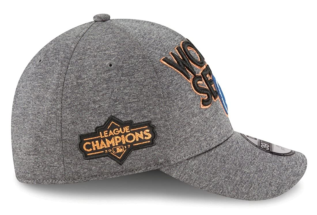 factory price dde58 958a5 Amazon.com   New Era Los Angeles Dodgers 39THIRTY 2017 NLCS Champions  Locker Room Men s Hat   Clothing
