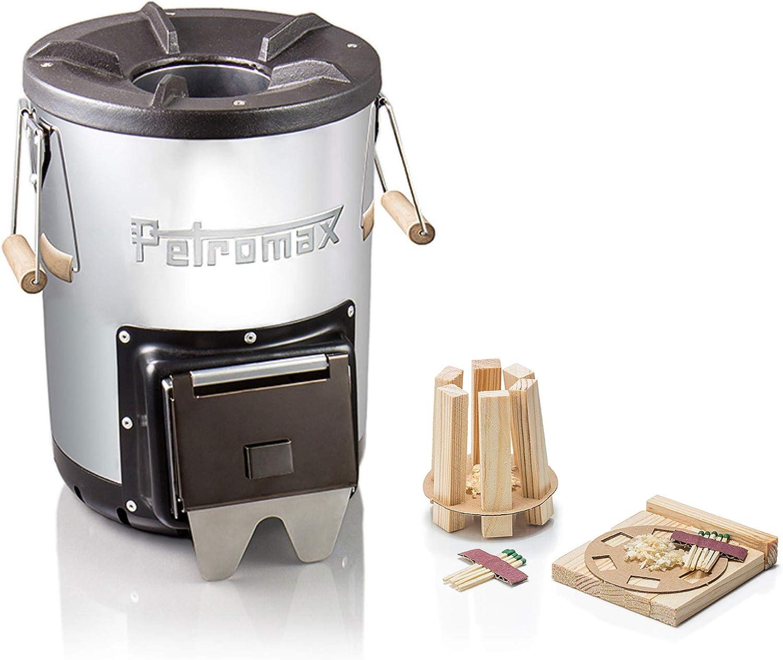 Petromax - Horno de cohetes rf33 para exteriores, juego de ...
