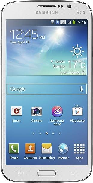 Samsung Galaxy Mega 6.3 entsperrte Smartphone (16 cm (6,3 Pulgadas), Pantalla TFT, Dual Core, 1,7 GHz, 1,5 GB RAM, Dual SIM, cámara de 8 Mpx, Android 4.2.2) Blanco: Amazon.es: Electrónica
