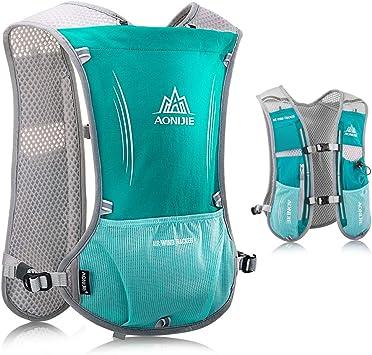 HINATAA Mochila ligera de hidratación para correr, 5 l, 190 g, chaleco de hidratación para mujeres y hombres, ciclismo, correr, escalada, senderismo, ...