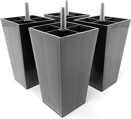 Fauteuil Design61 Lot De 4 Patins Pour Meubles A Visser 115 Mm Pour Canape Buffet Quincaillerie Quincaillerie Du Meuble