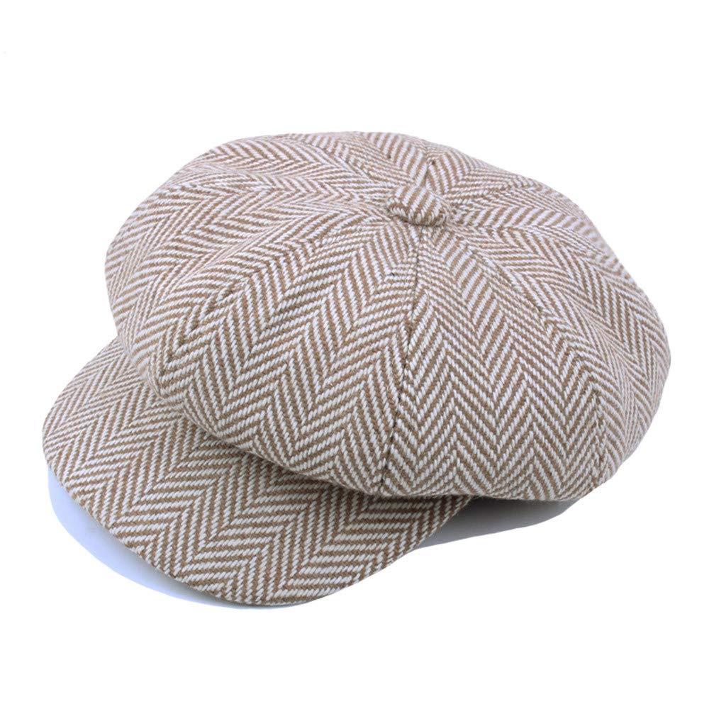 Styledresser Berretti da Uomo Unisex Vintage ▾ Cotone Cappello Inverno Mantellina pi/ù Caldo Berretti Cappello
