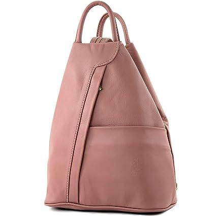modamoda de de - T180 - ital Bolso mochila para mujer en piel napa, Color