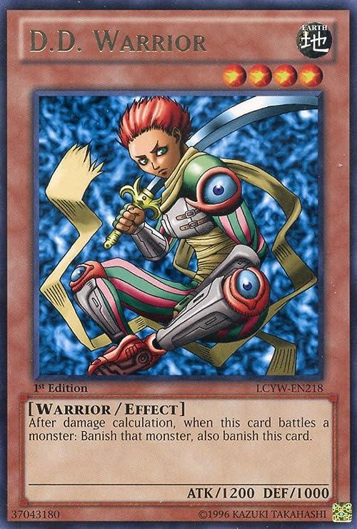 Yu-Gi-Oh! - DD Warrior (LCYW-EN218) - Legendary Collection 3: Yugi's World  - 1st Edition - Rare