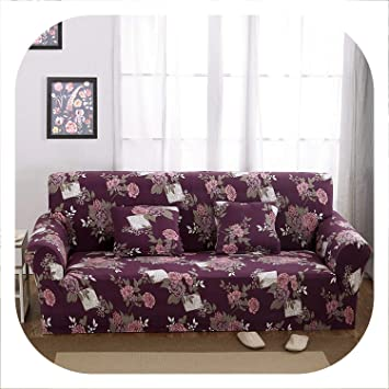 Amazon.com: Fundas de sofá elásticas Jacquard de lujo estilo ...
