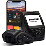 """Rexing V1 - 4K Ultra HD Car Dash Cam 2.4"""" LCD Screen, Wi-Fi, 170° Wide Angle Dashboard Camera Recorder with G-Sensor, WDR, Lo"""