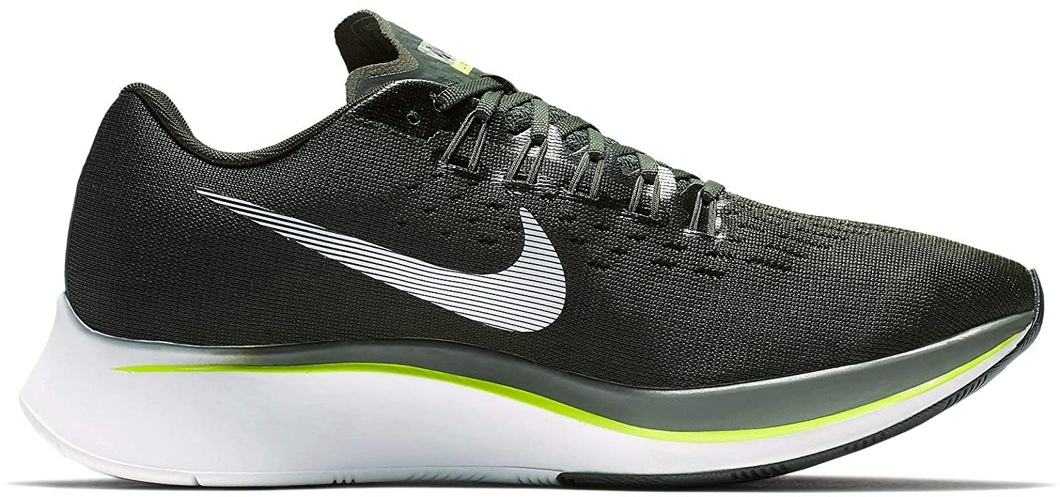 61babbbff24569 Nike Mens Zoom Fly Running Shoes Sequoia White-Medium Olive 880848-301  (11)  Amazon.co.uk  Shoes   Bags