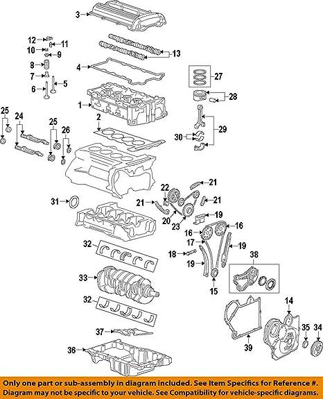 amazon com: general motors 12591093, engine connecting rod bearing:  automotive