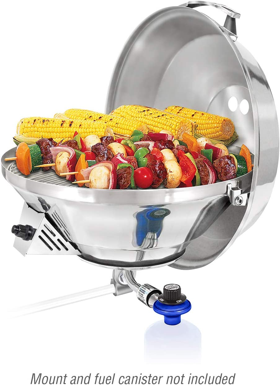 Magma Products, Marine Kettle 3, Combination Stove Gas Grill, Propane Portable Oven