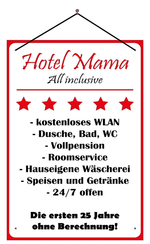 BlechschilderWelt Cartel de Chapa Hotel Mama - All Inclusive ...