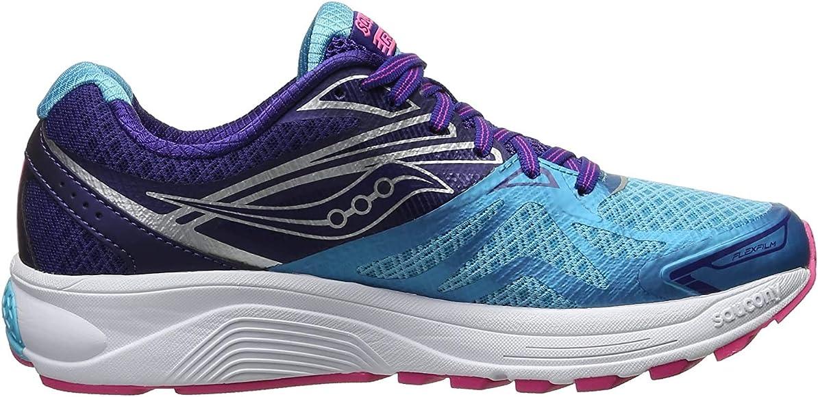 Saucony Ride 9 zapatillas de correr de mujer, (Navy | Blue | Pink ...