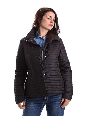 Geox Woman Jacket-Chaqueta Mujer negro Size: 42: Amazon.es ...