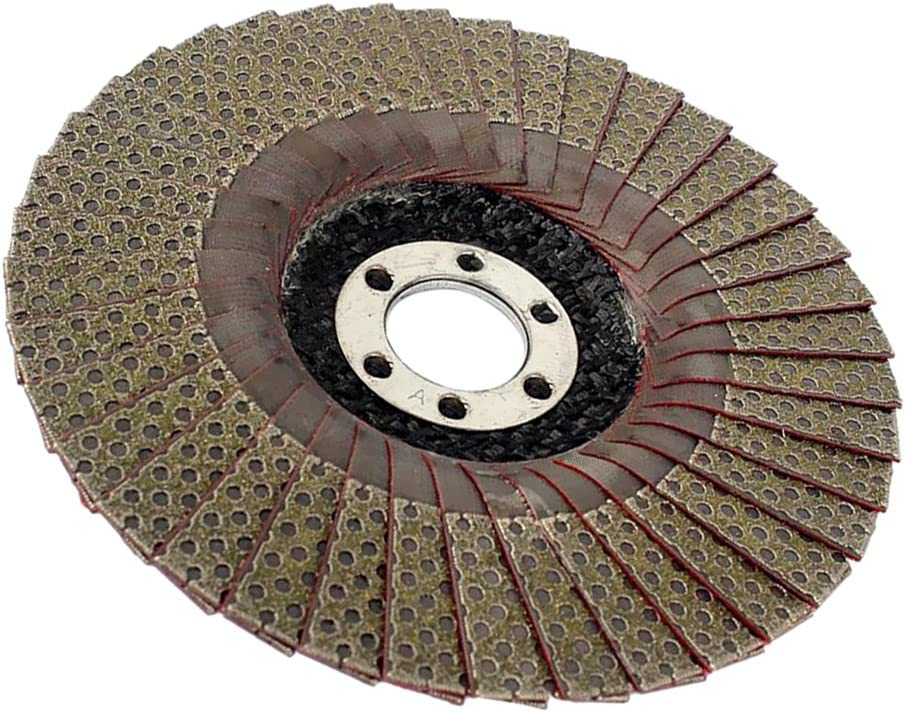 Premium 60Griit-400Grit Flap Disc Grinding Wheel Diamond Polishing Disc 100mm 200Grit as Shown