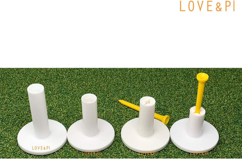 "Love&PI Rubber Golf Tees for Driving Range Mats 1.5"" 2"" 2.6"" 2.8"" 3"""