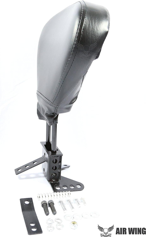 Detachable Quick Release Rider Backrest for Harley Davidson Touring FLHX FLHR FLHT FLTR CVO FLHTCU FLHTK 88-08