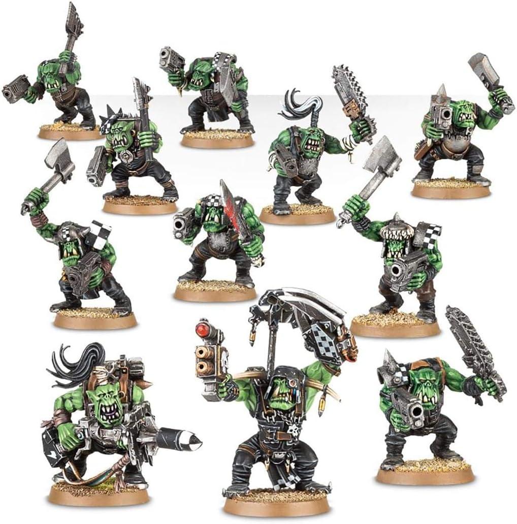 Games Workshop Figuras Guerreros Orkos con 11 Ork Boyz e opciones ...