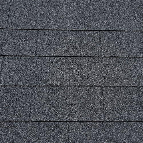 Roofing Felt Shingles   Shed Roof Felt   Square Butt   4 Tab   Black