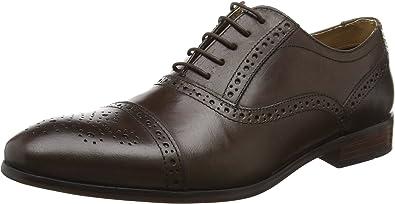 TALLA 44 EU. Red Tape Hartwell, Zapatos de Cordones Brogue para Hombre