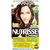 Garnier Nutrisse 3.23 Dark Quartz Brown Permanent Hair Dye