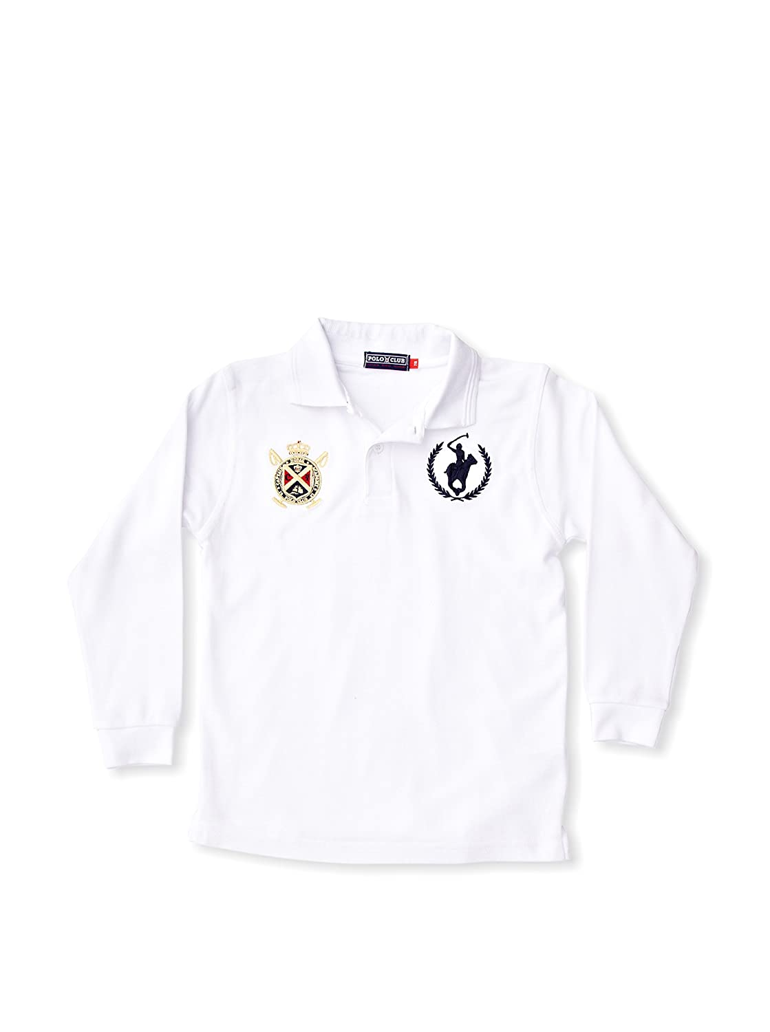 POLO CLUB Captain Horse Academy Polo Regular Fit Blanco 7-8 años ...